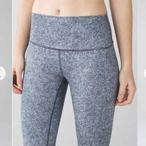 Lululemon High Times Pant Rio Mist White Black